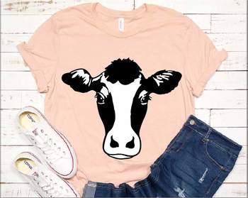 Cow Svg Cow Face Heifer Farm Farm Animal Farmhouse Cricut