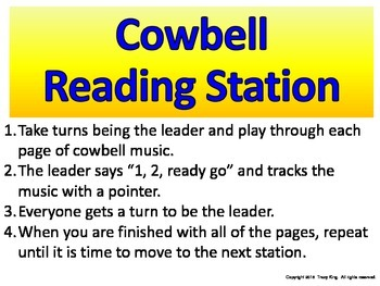 Cowbell Reading Station