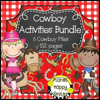 Cowboy Bundle ~ A Growing Bundle, Planet Happy Smiles