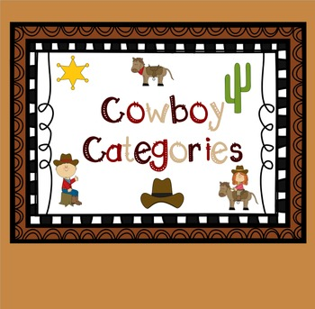 Cowboy Categories