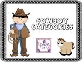 Cowboy Categories!