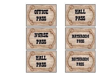 Cowboy Classroom Passes