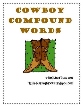 Cowboy Compound Words
