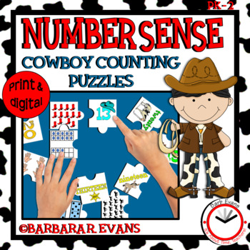 NUMBER SENSE: Numbers to 20, Number Sense Activity, Math Center, Subitizing