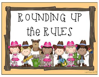 Western Cowboy Cowgirl Theme - Classroom Decor