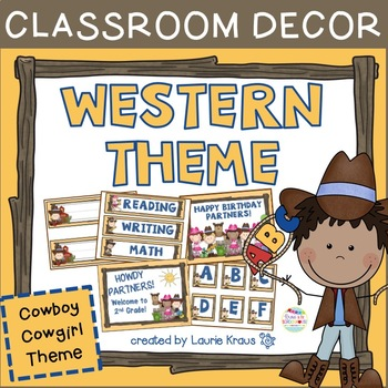 Western Theme Decorations