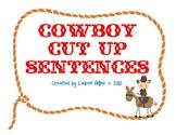 Cowboy Cut Up Sentences