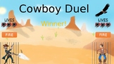 Cowboy Duel PowerPoint Game