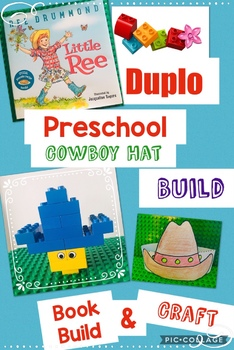 Cowboy Hat! Jr Engineers Class, Learning With DUPLO® Bricks