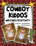 Cowboy Kiddos Writing Craftivity & more!