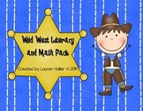 Cowboy Literacy and Math Activities