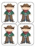 Cowboy  Lowercase Flashcards