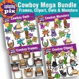Cowboy Mega Bundle Clipart
