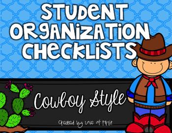 Cowboy Organization Checklists