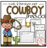 Cowboy Math and Literature Pack plus Craft