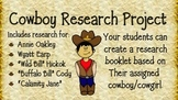 Cowboy Research Project and Booklet