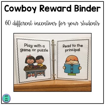 Cowboy Reward Binder (Positive Behavior Incentive Program)