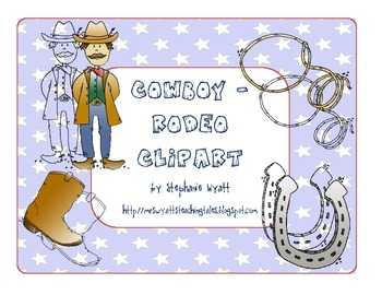 Cowboy-Rodeo Clipart