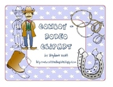 Cowboy-Rodeo Clipart