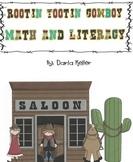 Cowboy Rootin Tootin Math and Literacy