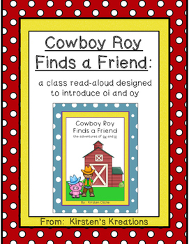 Cowboy Roy - a packet designed to reinforce the oi and oy