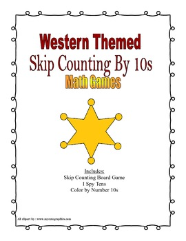 Cowboy Skip Count 10s