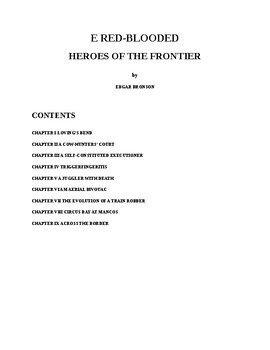 Cowboy Stories - The Red-blooded Heroes of the Frontier