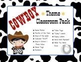 Western / Cowboy Theme Classroom Pack