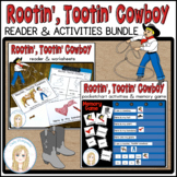 Cowboy Theme Bundle l Emergent Reader, Worksheets, Activit