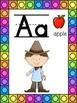 Cowboy Themed Alphabet Posters