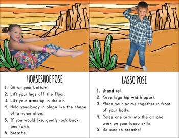 Cowboy Themed Kids Yoga