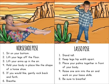 Cowboy Themed Kids Yoga