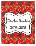 Cowboy Themed Organizational Teacher Binder