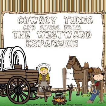 Cowboy Tunes & Songs from Westward Expansion - A Collectio
