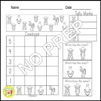 Cowboys Worksheets Activities Games Printables and More