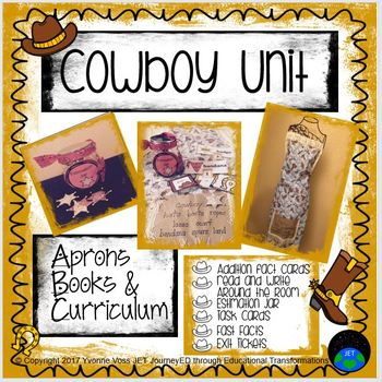 Cowboy Unit (Literacy and Math Activities)