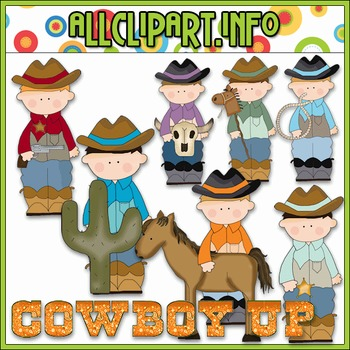 Cowboy Up Clip Art - Cheryl Seslar Clip Art