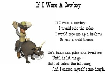 """Cowboy Up"" Cowboy Poetry PowerPoint"