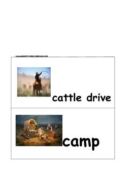 Cowboy Up Vocabulary