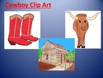 Cowboy Western Clip Art