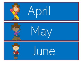Cowboy Western Theme | Western Calendar | Western Theme Classroom