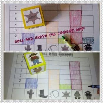 Cowboy Wild West Math, Literacy, and Craft PreK and Kindergarten