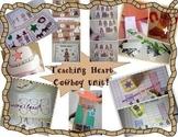 Cowboy Wild West Math, Literacy, and Craft PreK and Kindergarten