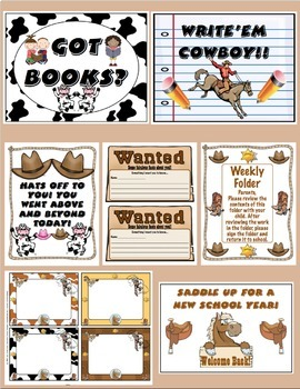 Back to School - Cowboys and Cowgirls