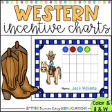 Incentive Charts with a Western Theme