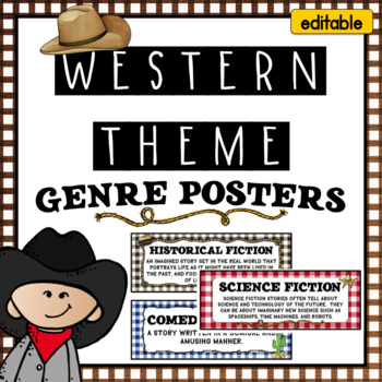 Cowboy and Western Genre Posters
