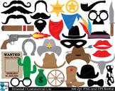 Cowboy props Digital Clip Art Personal Commercial Use 106