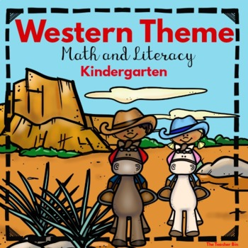 Cowboy/Cowgirl Math and Literacy Activities