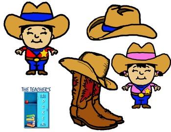 Cowboy/Cowgirl Clipart