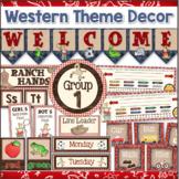 Western Decor - Cowboy Theme Classroom